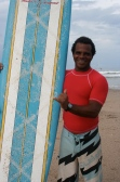 Paula Worthington photo - Costa Rica Surf Story - Surf Instructor Percy Lawrence -  6 of 6
