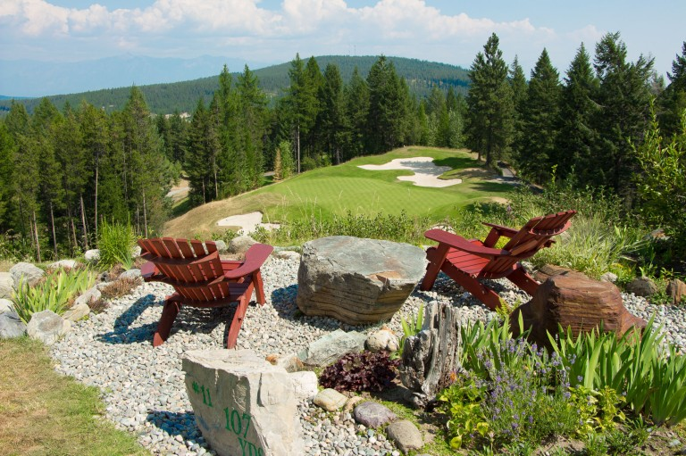 Gorgeous views on hole 11 at Trickle Creek in Kimberley BC - P Worthington-8660